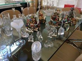 Waterford crystal vase, elephant, vases