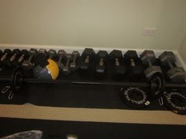 Hand Weights, free weights