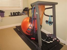 Exercise equipment, Treadmill
