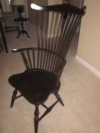 Windsor style chairs, matching set
