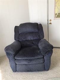Blue easy chair