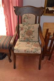 Beautiful Upholstered Vintage Chair