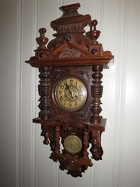 We have a great many working gorgeous antique clocks