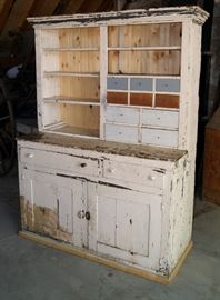 Work cupboard from Provo Power Plant at the mouth of Provo Canyon, work in progress