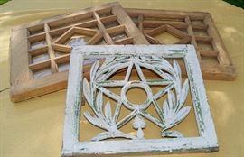 Wood window frames