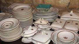 Large selection of Tea Leaf Ironstone