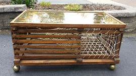 Lobster Trap Coffee Table located at another location. Please ask.
