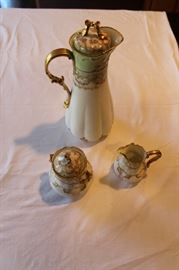 Limoges Haviland coffee and sugar/creamer