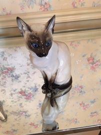 Hutschenreuther Siamese cat figurine. Beautiful.