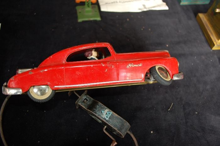 Remote operated Arnold Primat tinplate car made in US ZONE GERMANY, Circa 1950's