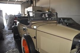 1932 Chevy with rumble seats