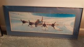 WWII Bomber Print