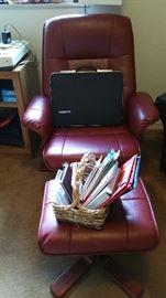 Nice chair & footstool