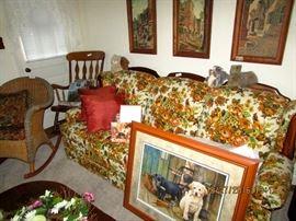 Grandma's LR furniture