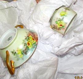 Hand painted china