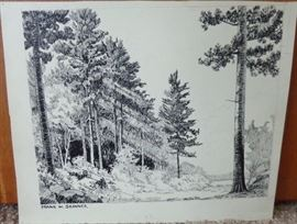 Another F. Skinner pen & ink - one of 7 altogether