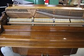 "A19 #1 Steinway & Sons 43"" 1972 Console Piano #428518 Condition of 9"