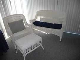 Nice wicker furniture