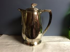 Silver Winged Streamliner water pitcher.