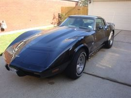 "1979' CHEVROLET CORVETTE 2 DOOR COUPE, L-82 WITH GLASS ROOF. THIS WAS THE ""HIGH PERFORMANCE"" MODEL OF THE PRODUCTION YEAR. MOTOR & TRANSMISSION ARE ORIGINAL AND HAS LESS THAN 24k MILES. SCROLL TO THE BOTTOM TO SEE OTHER PICS OF THIS SWEET RIDE."