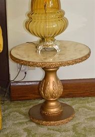 Pair of Matching Vintage Hollywood Regency Side Tables