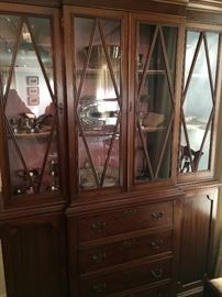 1880's mahogany breakfront (sold by Charles of London)