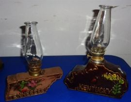 Vintage Collectible Oil Lamps