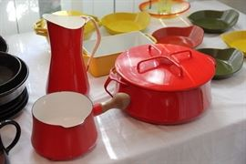 Dansk enamel and cast iron cookware
