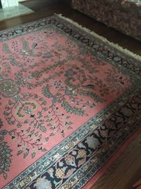 Area Wool handmade Oriental Rug - 8 x 10 (wool and Cotton) - appraisal value available