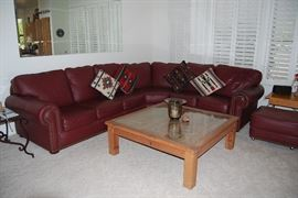 LARGE SQUARE COFFEE TABLE, END TABLES ONLY