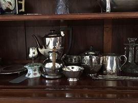 Silverplate, and assorted sterling