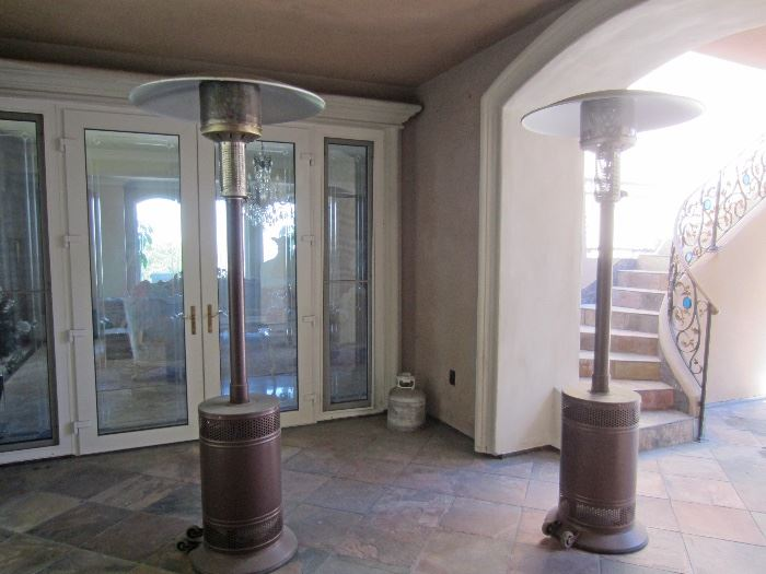 multiple yard heaters