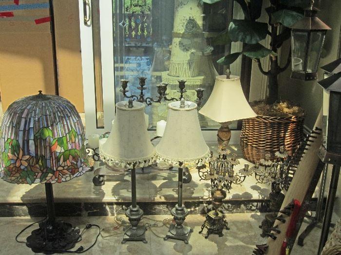 lots of wonderful lamps