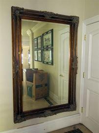 3' x 6' ornate mirror.