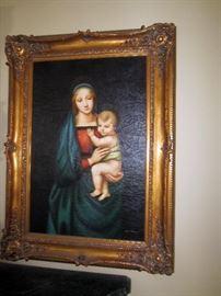Fine oil paintings