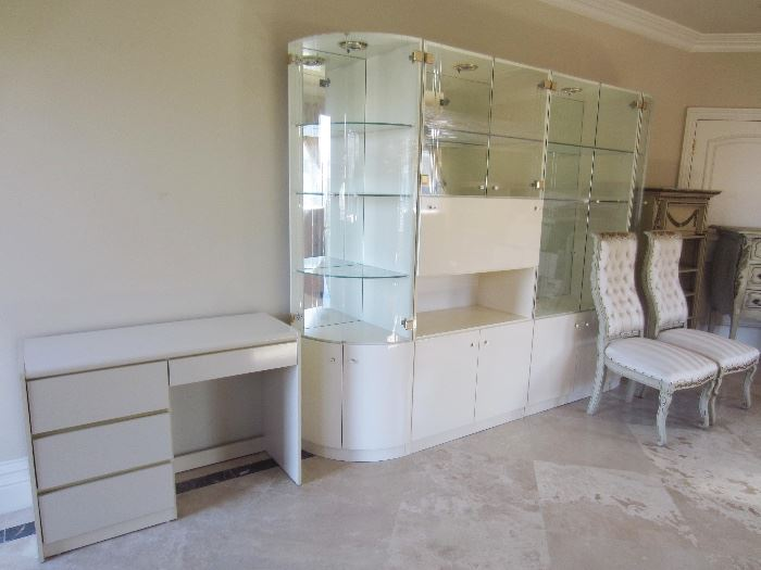 Lacquer furniture from Italy