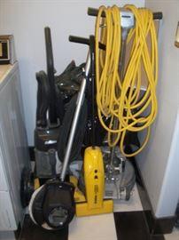 Floor buffing equipment