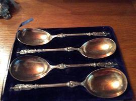 English, London apostle spoons