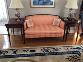 Hickory Chair Company Sofa and End tables