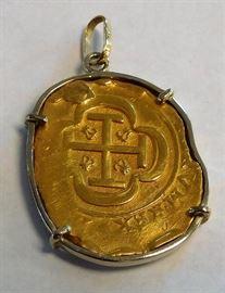 1715 Spanish Fleet Gold Coin