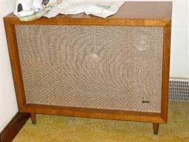 One of a pair of vintage JBL speakers
