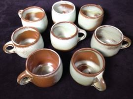 Francoma Vintage Pottery Prairie Green and others