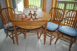 Nice Oak Kitchen Set