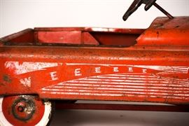Fire Chief Pedal Car