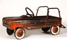 Fire Engine Pedal Car