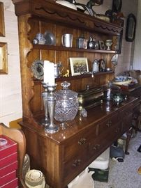 "L.Cherry Stickley Sideboard with cupboard  know as ""The Welsh Cupboard """