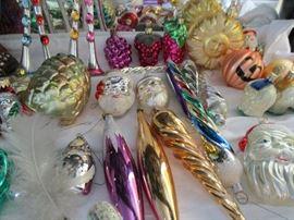 German glass ornaments