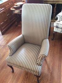 Stripe High back Chair