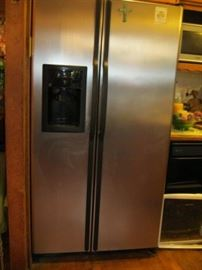 Stainless Front Refrigerator