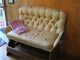 Antique Carriage Seat
